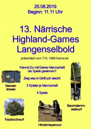 13. Highland-Games der Selbolder Narren