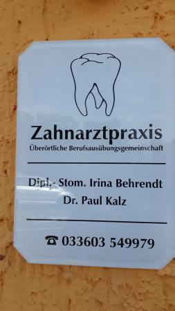 üBAG Dr. Paul Kalz & Dipl.-Stom. Irina Behrendt