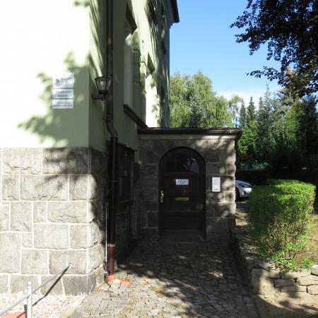 Eingang zum Polizeistandort Sohland a.d. Spree Foto:Jana Häntschel