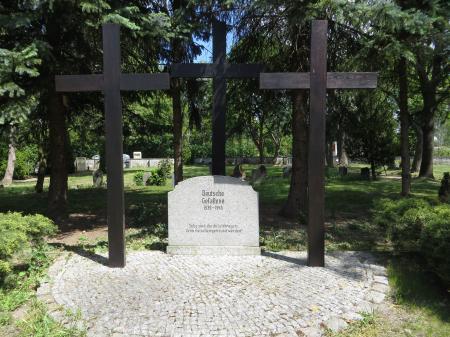 Deutsche Kriegsgräberstätte in Podelzig, Oberdorf Foto: Info Punkt Lebus