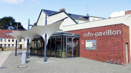 Tourist-Information am Markgrafenplatz in Lehnin