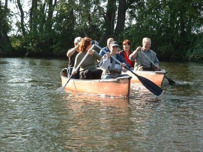 maritimer Freizeitspaß auf der alten Oder
