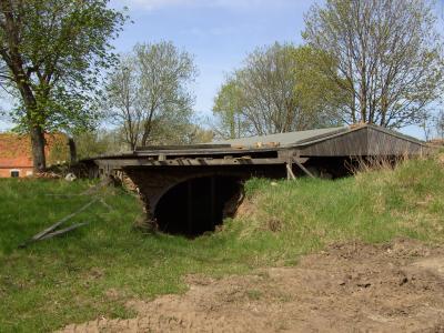 Keller des ehemaligen Gutshauses in Karnitz