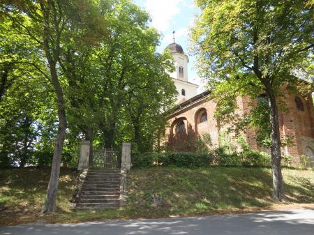 Kirche Hohenjesar  Foto. Info Punkt Lebus