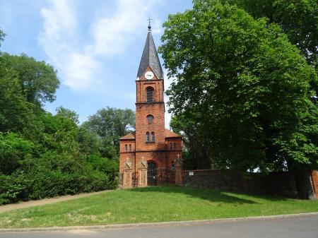 Kirche Döbberin  Foto: Info Punkt lebus