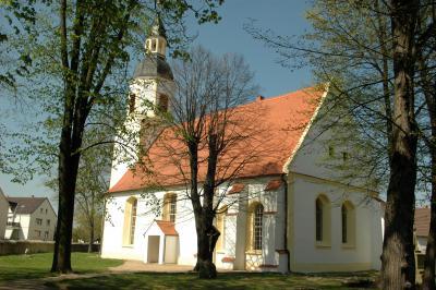 Kirche nach der Sanierung 2008