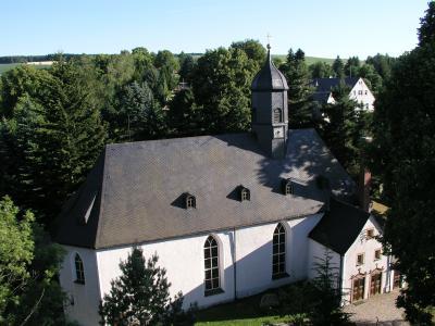 Kirche in Jahnsdorf