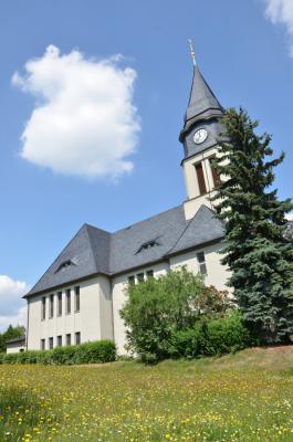 Kreuzkirche in Chemnitz-Klaffenbach