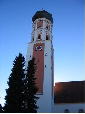 Die ältesten Bauteile der katholischen Pfarrkirche
