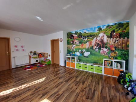 Spielraum in der Kindertagespflege Foto: Manuela Bode