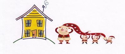 Haus mit Zwergen