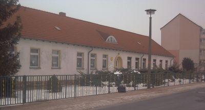 Kinderkrippen- und Kindergartenbereich der Kita, Tel. 033472 416