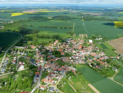 Arnstein-Harz - Blick über das Territorium