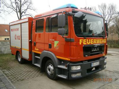 Ab 20.12.2013 Einsatzfahrzeug FF Libbenichen TSF-W (700 Liter Wasser) von Ziegler