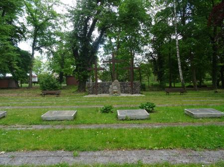 Deutsche Kriegsgräberstätte in Lebus, OT Wulkow Foto: Info Punkt Lebus