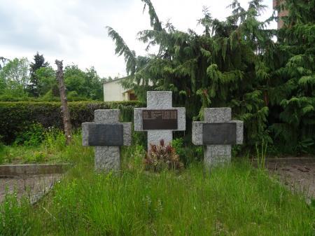 Deutsche Kriegsgräberstätte in Treplin  Foto Info Punkt Lebus
