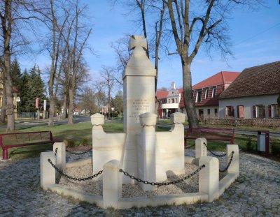 © Foto: K. Schulze – Denkmal für die Gefallenen des 1. Weltkrieges