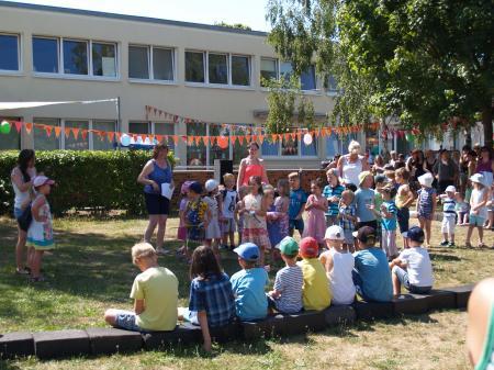 Familienfest im Haus Kunterbunt