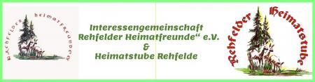 """Herzlich willkommen auf der Internetseite der Interessengemeinschaft """"Rehfelder Heimatfreunde"""