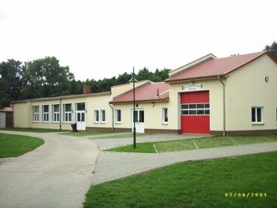 Dorfgemeinschaftshaus und Feuerwehr in Wilsickow