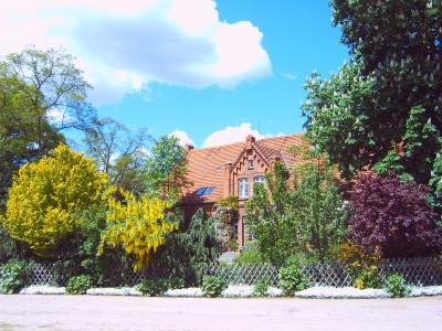 Das ehemalige Pfarrhaus in Schorrentin