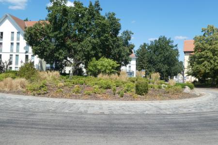Kreisverkehr Baruth/Mark