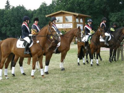 Vielseitigkeitsturnier 2008 - Ehrung der Landesmeister