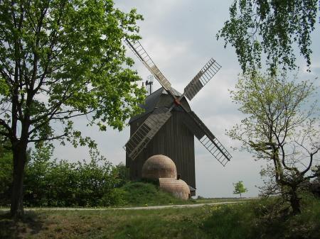 Paltrockwindmühle in Oppelhain