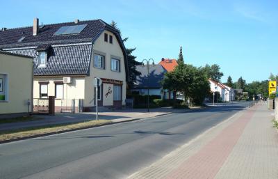 Straße in Rehfelde