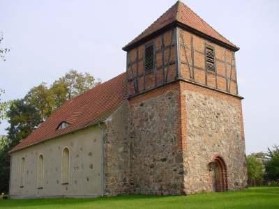Feldsteinkirche aus dem Ende des 13. Jahrhunderts in Reichenwalde