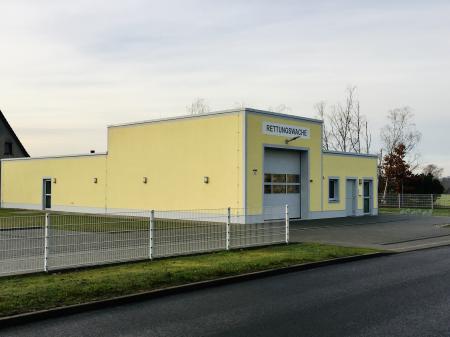 Die Rettungswache im Ortsteil Oppelhain