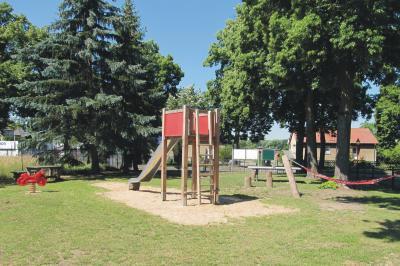 Schönerlinde Spielplatz Schönerlinder Chaussee, Foto: Gemeinde Wandlitz