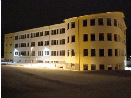 Schulgebäude neu