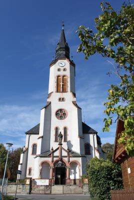 Die Kirche in Sehma.