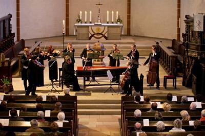 Konzert in der Schmalkalder Kirche