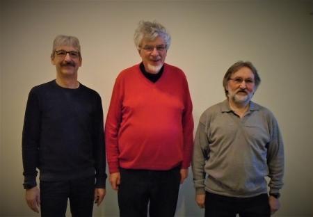 Gemeindevertreter der SPD v.l. Ansgar Kruse, Werner Bluhm, Ralf-Dieter Demmler