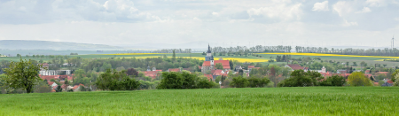 Panorama der Stadt Bad Tennstedt