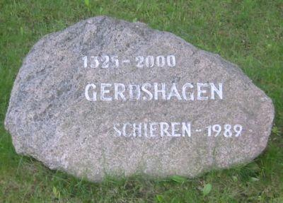 Stein in Gerdshagen