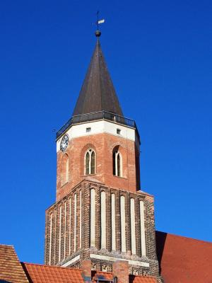 Aussichtsplattform auf dem Calauer Kirchturm