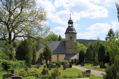 Die Kirche in Tannenberg.