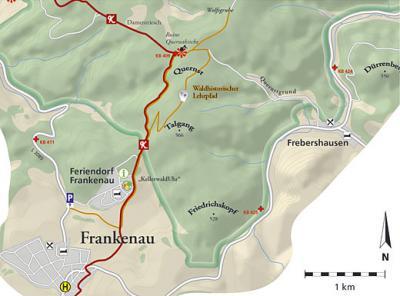 Ehemaliger Waldhistorischer Lehrpfad