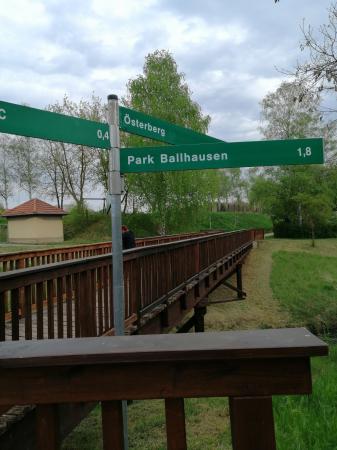 Wanderweg Richtung Ballhausen