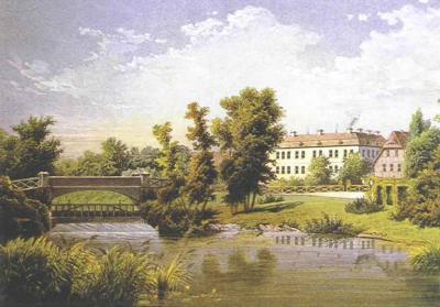 Schloss Wolfshagen: Alexander Duncker, 1857