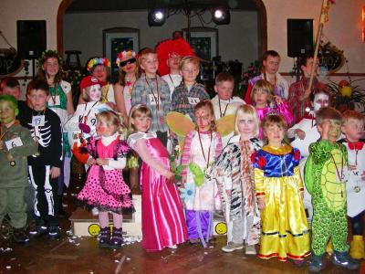 Foto zur Meldung: Großer Spaß beim Kindermaskenball in Werchow