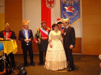 Foto zur Meldung: Prinzenpaar wurde vom Ministerpräsidenten empfangen