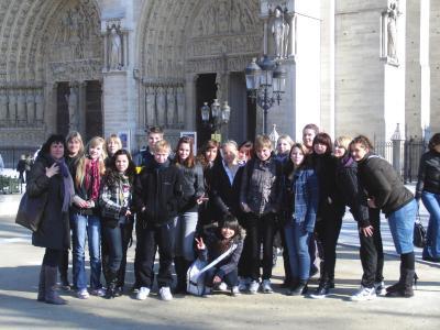 Foto zur Meldung: Kursfahrt nach Paris (Grund- und Oberschule Schenkenland)
