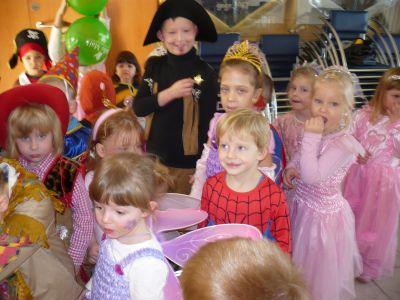 Foto zur Meldung: Fasching im Kindergarten Günthersdorf mit dem GCC