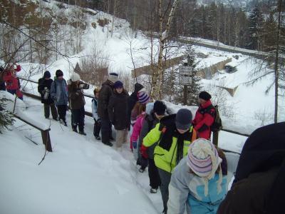 Foto zur Meldung: Wintersport der Klasse 5 in Geising