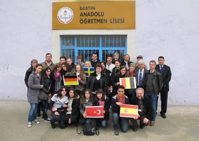 Foto zur Meldung: Comenius-Treffen am Schwarzen Meer