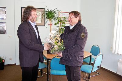 Foto zu Meldung: Werner Suchner als neuen Bürgermeister begrüßt